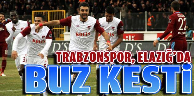 Trabzonspor, Elazığ'da buz kesti