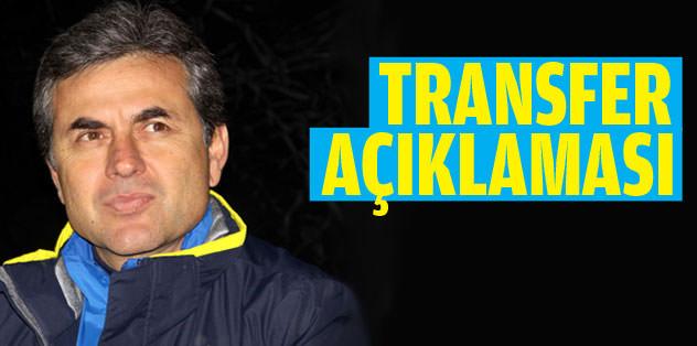 Aykut Kocaman'dan transfer açıklaması!