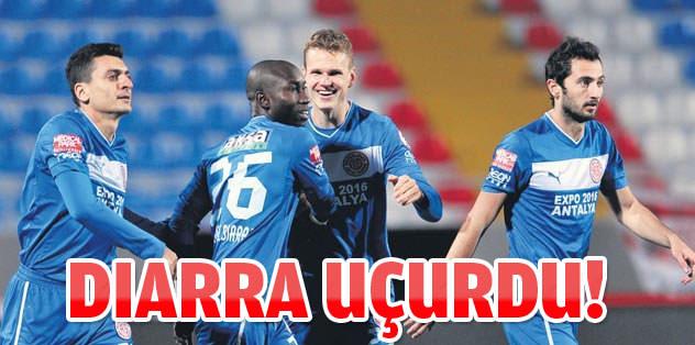 Antalyaspor'u Diarra uçurdu