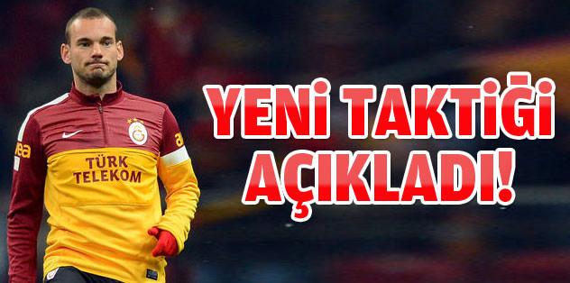 Sneijder duyurdu