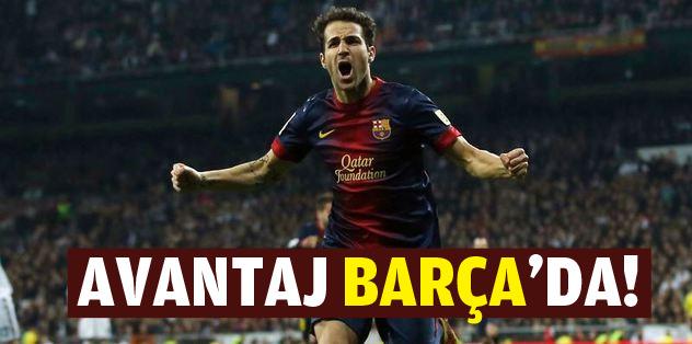 Avantaj Barça'da!