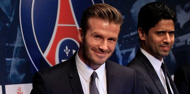 David Beckham  Paris Saint Germain'de