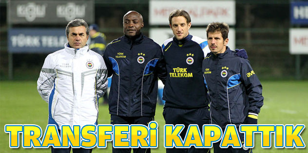 "Aykut Kocaman: ""Transferi kapattık"""
