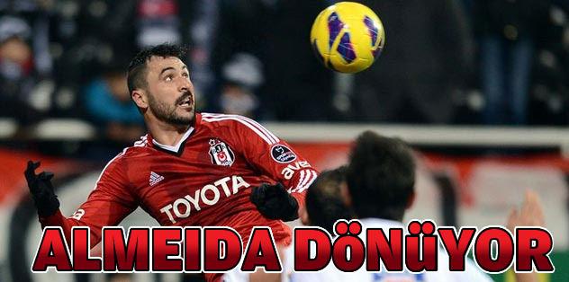 Almeida geri dönüyor