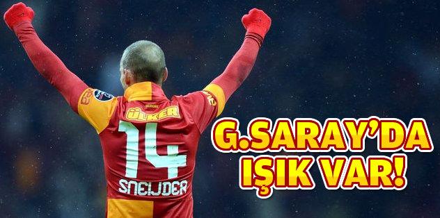 Işığın adresi Galatasaray