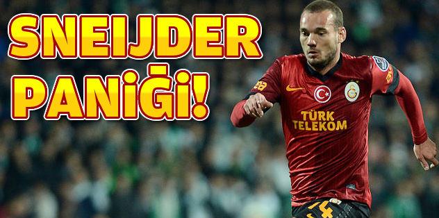 Sneijder paniği
