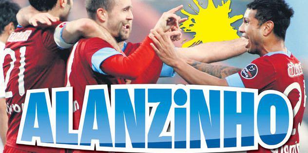 Huzurlarınızda Alanzinho