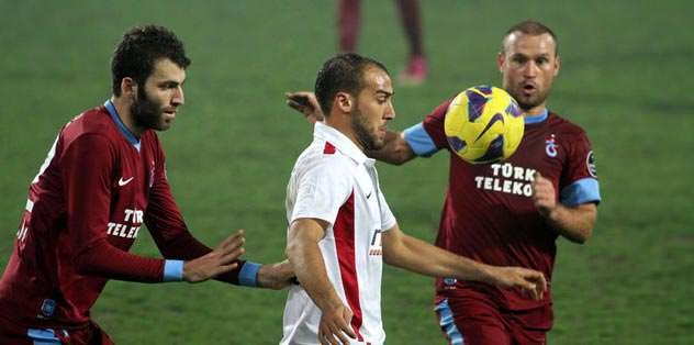Serkan, 450. maçta dinamo gibi çalıştı