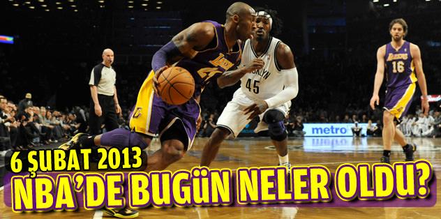Amerikan Ulusal Basketbol Ligi'nde (NBA) 5 maç oynandı.
