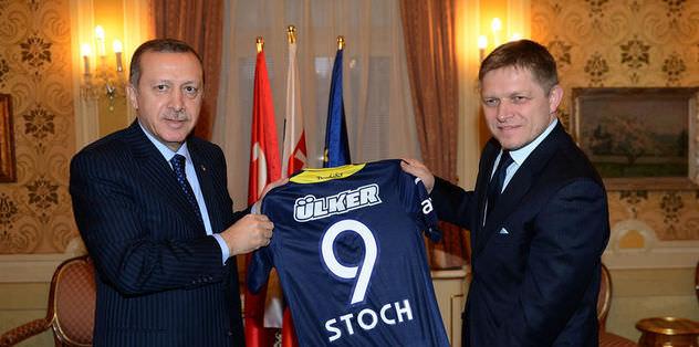 Başbakan Erdoğan, Stoch'un formasını hediye etti