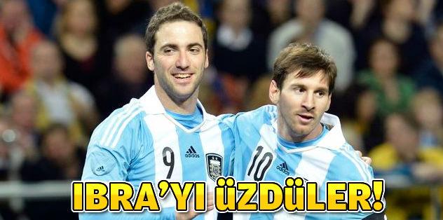 Arjantin İbra'yı üzdü!