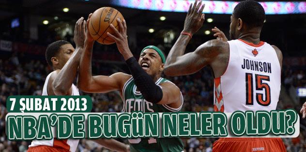 NBA'de bugün neler oldu? (7 Şubat 2013)