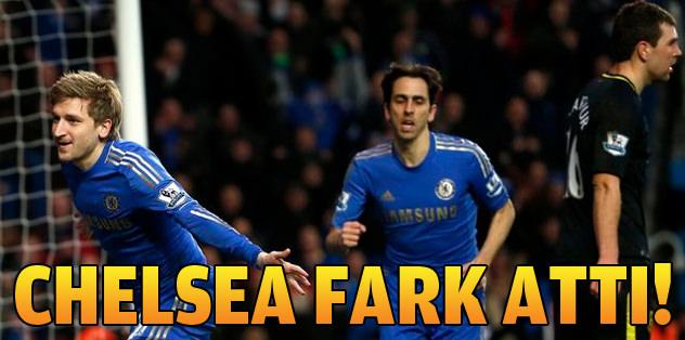 Chelsea fark attı