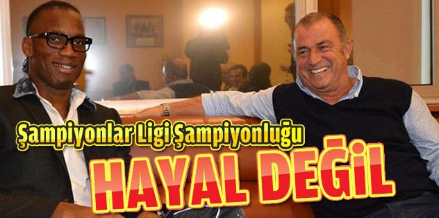 Galatasaray'ı en büyük yapacağım