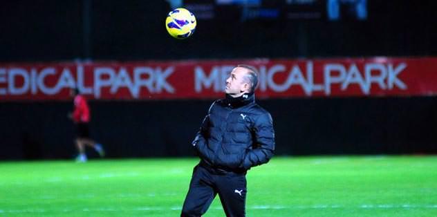 Antalyaspor'da galibiyet hesabı