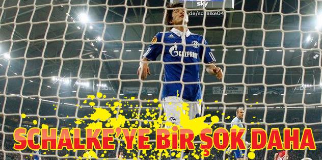 Schalke'ye bir şok daha!