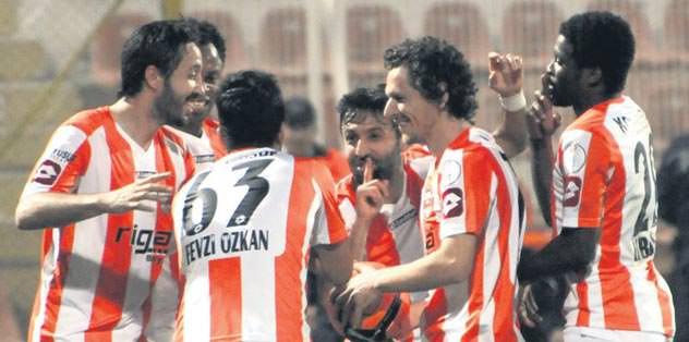 Son gülen Adanaspor