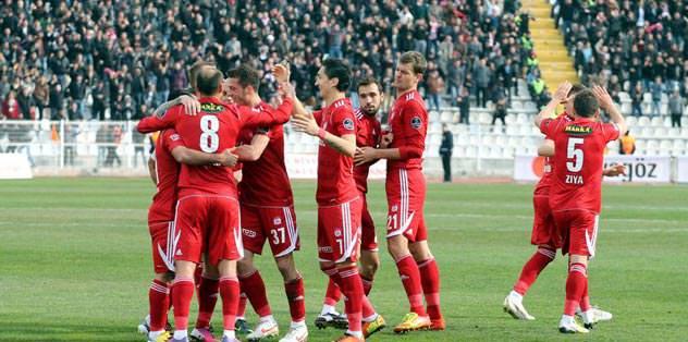 Sivasspor keyifli