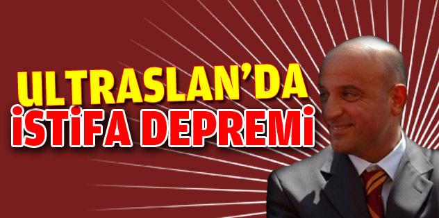 UltrAslan'da istifa şoku!