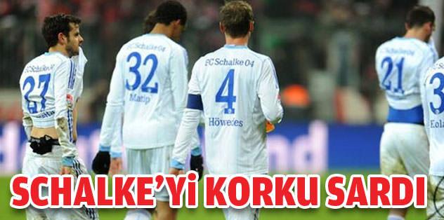 Schalke'yi elenme korkusu sardı