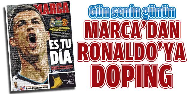 Marca'dan muazzam Ronaldo kapağı