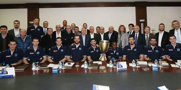 Türkiye Kupası başkana gitti