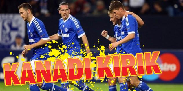 Schalke 04'ün kanadı kırık