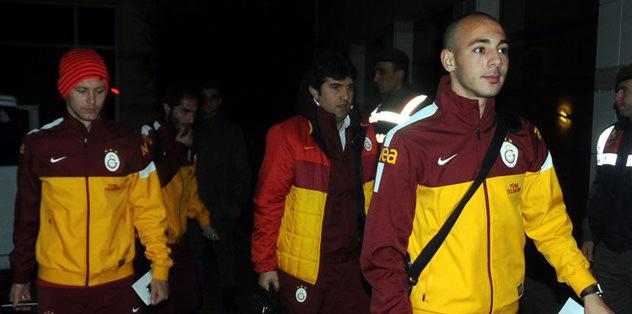 G.Saray, İzmir'e gitti