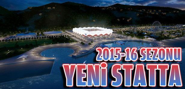 2015-16'da yeni stadında
