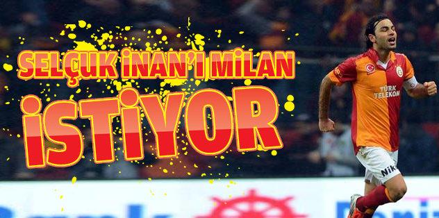 Selçuk İnan'a Milan kancası