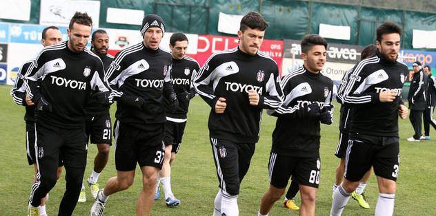 Beşiktaş, Gaziantep hazırlıklarını tamamladı