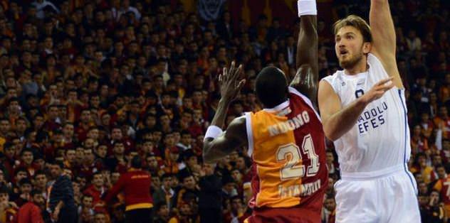 Galatasaray MP, Anadolu Efes'i devirdi!