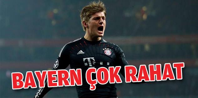 Bayern, Arsenal'i 3-1'le geçti