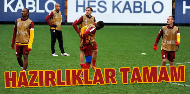 Galatasaray Schalke'yi bekliyor
