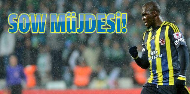 Moussa Sow perşembeye sahada