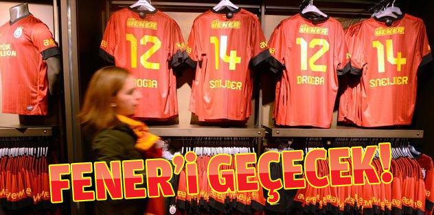 Galatasaray, Fener'i geçecek
