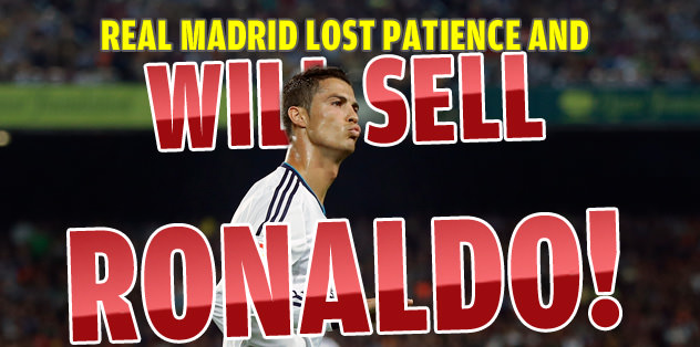 Real Madrid will sell Ronaldo