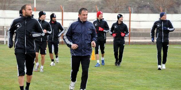 Beşiktaş maçı hazırlıklarını sürdürdü