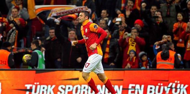 Burak Avrupa'nın en iyi 3. golcüsü