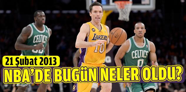 NBA'de bugün neler oldu? (21 Şubat2013)