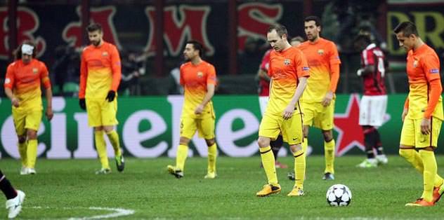Barcelona şokta: 0-2