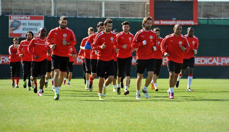 Antalyaspor'da üç eksik var