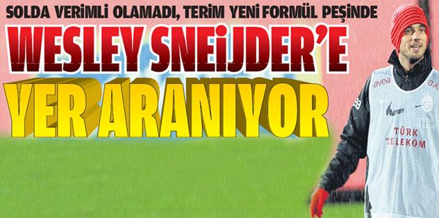 Sneijder'e yer aranıyor