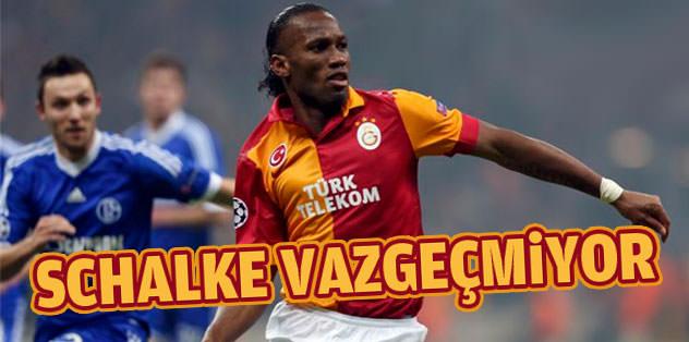 Schalke Drogba'da ısrarlı
