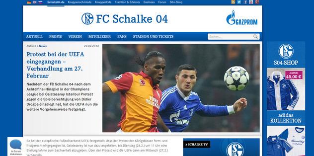 Schalke'nin itirazı 27 Şubat'ta görüşülecek