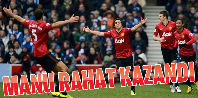 Manchester United zorlanmadan kazandı!