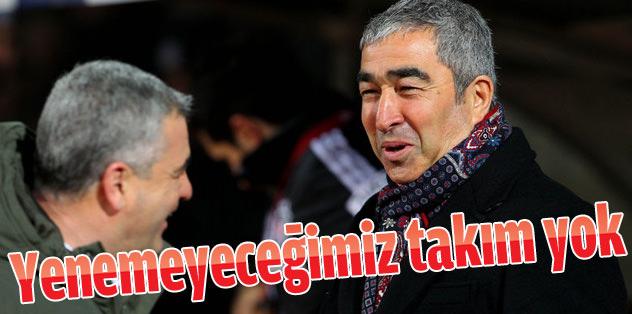 """Samet Aybaba: """"Bizim bu ligde yenemeyeceğimiz takım yok"""""""
