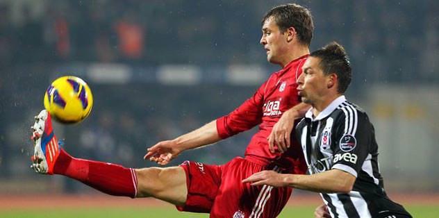 Beşiktaş'ın ilk şutu 37. dakikada