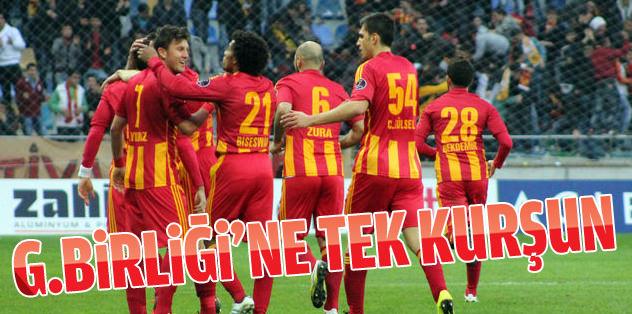 Kayseri'den Gençlerbirliği'ne tek kurşun!