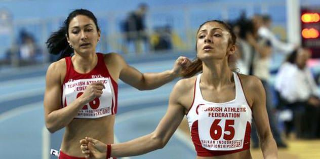 Atletizmde 5'i altın 15 madalya